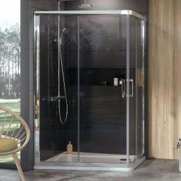 Sprchový kout obdélník 90x190 cm Ravak 10° chrom lesklý