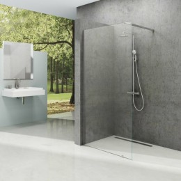 Walk-In sprchová zástěna Ravak, 100cm včetně vzpěry 90cm