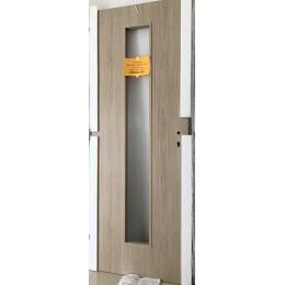 Dveře Basic 40 pískový dub, chinchila sklo 60P