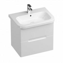 Koupelnová skříňka pod umyvadlo Ravak Chrome 59x42 cm bílá