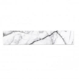 Dekor bílý mramor pro vanovou a sprchovou baterii