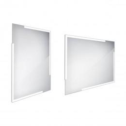 Zrcadlo s LED osvětlením bez vypínače 80x60cm