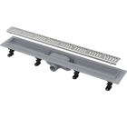 ALCAPLAST APZ10-650M SIMPLE podlahový žlab s okrajem, s roštem