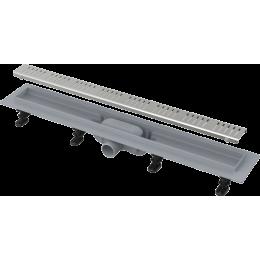 ALCAPLAST APZ10-850M SIMPLE podlahový žlab s okrajem, s roštem