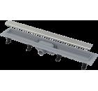 ALCAPLAST APZ9-550M SIMPLE podlahový žlab s okrajem, s roštem