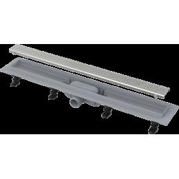 ALCAPLAST APZ9-950M SIMPLE podlahový žlab s okrajem, s roštem