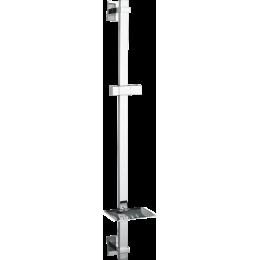 Posuvný držák  sprchy Adagio s mýdlenkou hranatý 65 cm