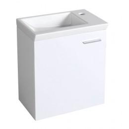 ZOJA skříňka pod umývátko 44x50x25 cm + Umývátko ZORAN 45x27,5 cm