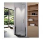 SanSwiss SWING-LINE - Jednokřídlé dveře,šířka 900mm,výška 1950mm,aluchrom,sklo čiré - SL109005007