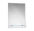 IMAGOLUX AMANDA Zrcadlo s poličkou 50x70cm MK36584