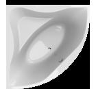 HOPA FIRENZE 140 x 140 cm, 140 l VANFIR14N akrylátová vana, rohová