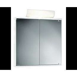 JOKEY 19122 Zrcadlová skříňka s osvětlením, bílá, 60x74x14cm MK36427