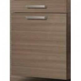 INTEDOOR Nízká skříňka s košem a zásuvkou NY SN 50 1Z K, š: 50cm