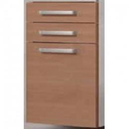INTEDOOR Střední skříňka s košem a 2 zásuvkami NY SS 50 2Z K, š: 50cm
