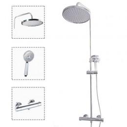 OLSEN SPA termostatický sprchový set RIVER + THERMO 15, OLBATH15