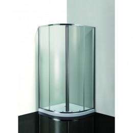 OLSEN SPA Sprchový kout MURO m + vanička Sofia R550, čiré sklo, litý mramor. včetně podpory