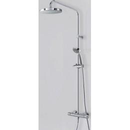 TRES LEX-TERMOSTATICKÝ sprchový set, sprchová baterie termostatická 150mm s příslušenstvím, chrom 181386