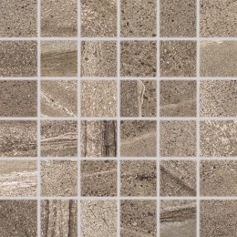 RANDOM hnědá 5x5 mozaika set 30x30 cm