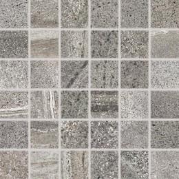 RANDOM tmavě šedá 5x5 mozaika set 30x30 cm
