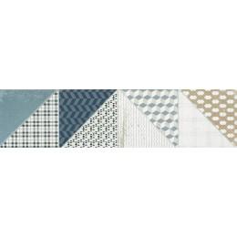 DECO vícebarevná 15x60 dlaždice - rektifikovaná