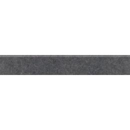 ROCK černá 60x9,5 sokl - lappato