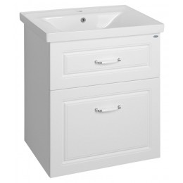 Favolo umyvadlová skříňka 61,5x72,5x44cm, bílá mat
