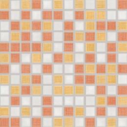 SAMBA vícebarevná 2,5x2,5 mozaika set 30x30 cm