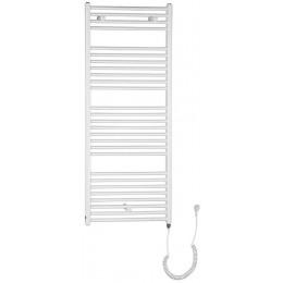 Otopné těleso pro elektrické vytápění, rovné, 1330/600, bílá (včetně topné tyče)