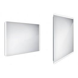 Zrcadlo s LED osvětlením bez vypínače 100x70cm