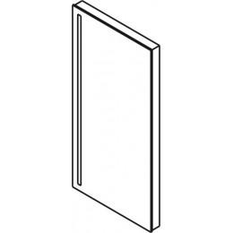 Sapho GEMINI zrcadlo s LED osvětlením 30x60cm ( 22365 )