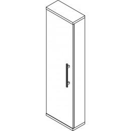 Sapho BEATA skříňka vysoká 40x140x18cm, levá, wenge/bílá ( 52110L )