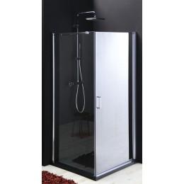 Sapho ONE čtvercová sprchová zástěna 800x800mm, sklo LINK, pravá ( GO2180SR )
