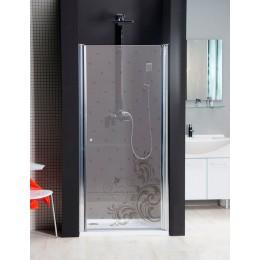 Sapho RETRO sprchové dveře 900mm, sklo RETRO, pravé ( GO4190RR )