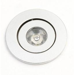 Sapho LED bodové světlo 1W, 230V, 52mm, studená bílá, 30st ( LDC118 )