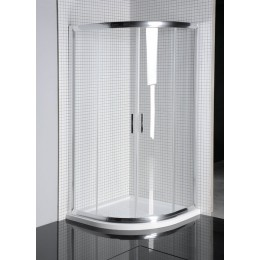 Sapho AKCE čtvrtkruhová sprchová zástěna 900x900mm ( SP3512 )
