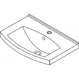 Sapho TEFEN keramické umyvadlo 66x45cm, nábytkové ( TF065 )