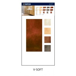Sapho SOFT vzorkový panel 115x60 cm,foto+obklad ( V-SOFT )