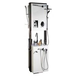 Sapho Designový stojan včetně vzorků vodovodních baterií a sprch. ( V-SPACE )