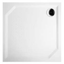 Sapho ANETA100 sprchová vanička z litého mramoru, čtverec 100x100x4cm ( GA001 )