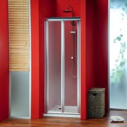 GELCO SG1829 Dveře SIGMA zalamovací do sprchy, 90cm, čiré sklo