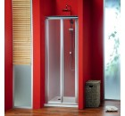 GELCO SG3848 Dveře SIGMA zalamovací do sprchy, 80cm, sklo BRICK