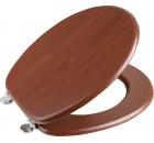 AQUALINE WC sedátko, MDF, ořech ( 1705-04 )