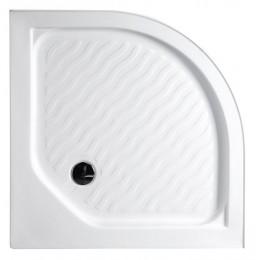 Sprchová vanička akrylátová, čtvrtkruh 90x90x15cm