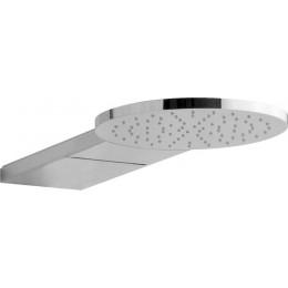 Sapho TRIO podomítková hlavová sprcha, průměr 250mm, kaskáda, chrom