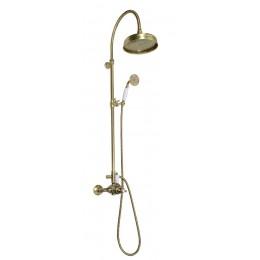 Sapho ANTEA sprchový sloup s termostatickou baterií, bronz ( SET046 )