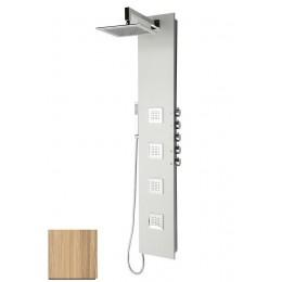 Sapho 5SIDE SQUARE sprchový panel 250x1550mm, Kokos ( 80222 )