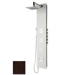 Sapho 5SIDE SQUARE sprchový panel 250x1550mm, Wenge ( 80223 )