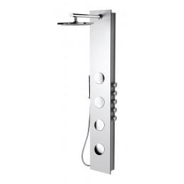 Sapho 5SIDE ROUND sprchový panel 250x1550mm, Bílá ( 80217 )