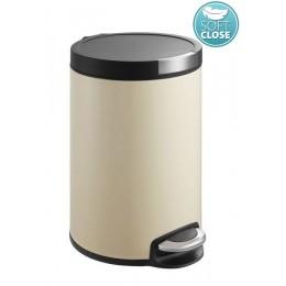 Sapho ARTISTIC odpadkový koš 5l, Soft Close, béžová ( DR155 )