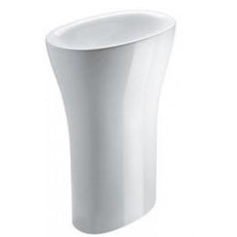 Sapho AQUATECH keramické umyvadlo volně stojící do prostoru 60x85x40cm ( 374201 )